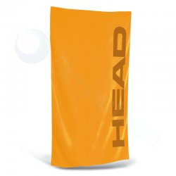 Microfiber handduk orange stor - Head
