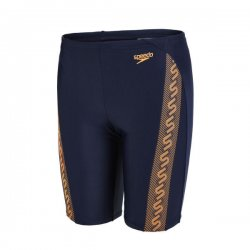 Badbyxor barn Monogram Jammer marin/orange - Speedo