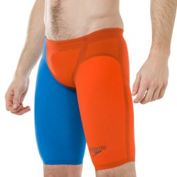 Badbyxor tävling lzr elite 2 jammer orange/blå - Speedo
