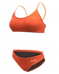 Simbikini flick orange Flexini 2 delad - Lane 4